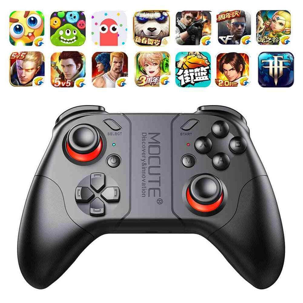 LJAN Wireless Mocute 053 Bluetooth Gamepad Game Controller For Android Phone TV Box Tablet PC – intl