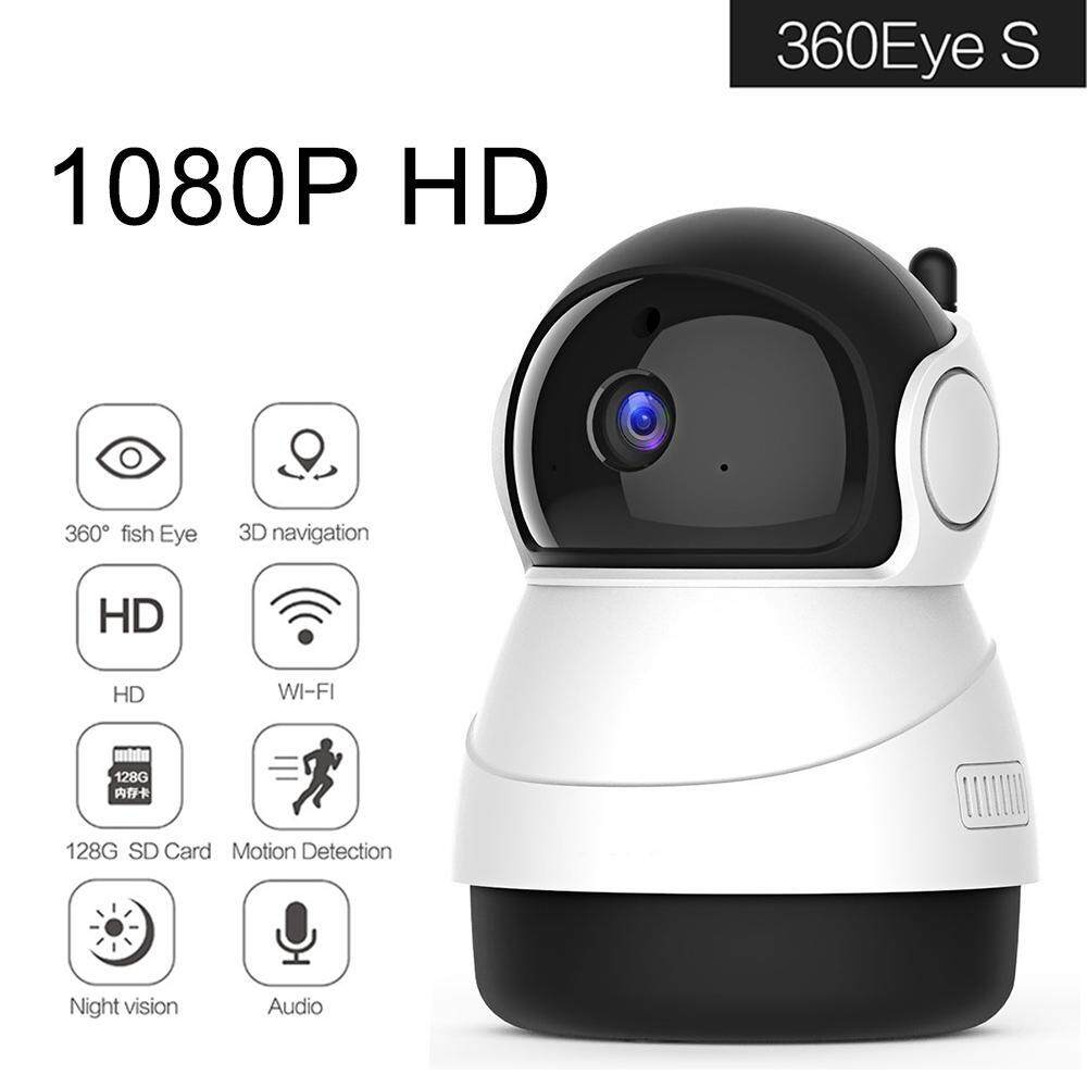 GoodScool 1080P FHD WiFi IP Camera Wireless Indoor Camera With Night Vision Motion Detection 2-Way Audio Home Security Surveillance Pan/Tilt/Zoom Monitor For Baby/Elder/Pet