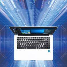 14.1″ Ultraslim Quad Core 6G 64GB Laptops Windows 10 HD 1920×1080 9000mAh Portable Laptop White