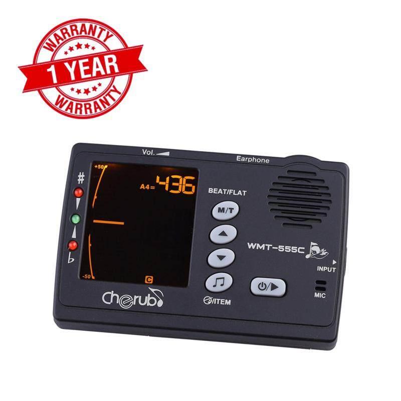 [100% Brand New & Ready Stock] Cherub WMT-555C 3 in 1 Metronome, Tuner and Tone Generator Malaysia