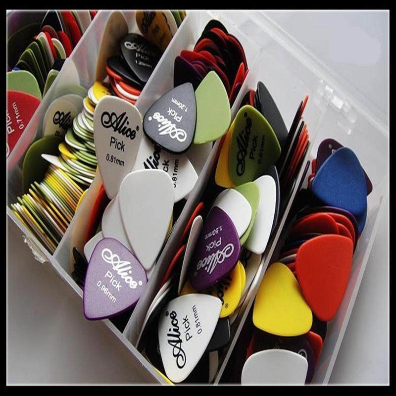 100x Electric Acoustic Guitar Picks Matte Plectrums(Assorted thickness & colors) Malaysia