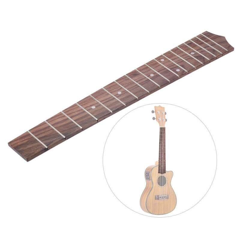 26 Inch Tenor Ukulele Hawaiian Guitar Rosewood Wood Fretboard Fingerboard 18 Frets Brown Malaysia