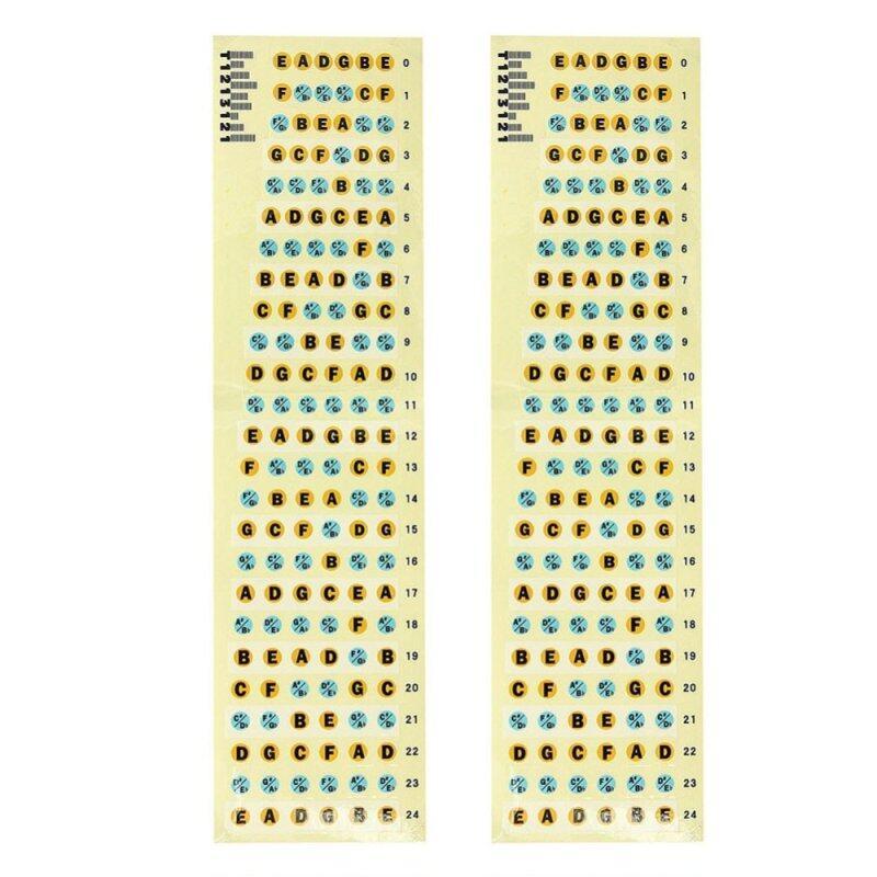 2Pcs Guitar Fretboard Note Labels Fret Sticker Malaysia