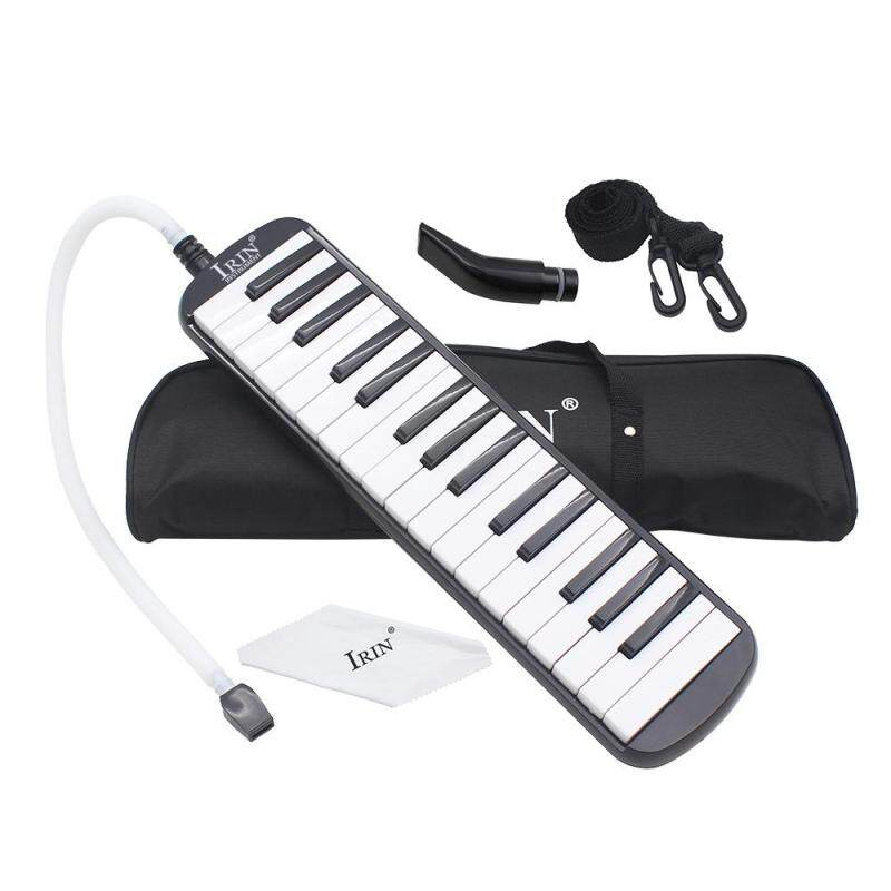 32 Piano Keys Melodica Musical Education Instrument for Beginner Kids Children Gift with Carrying Bag Black Malaysia