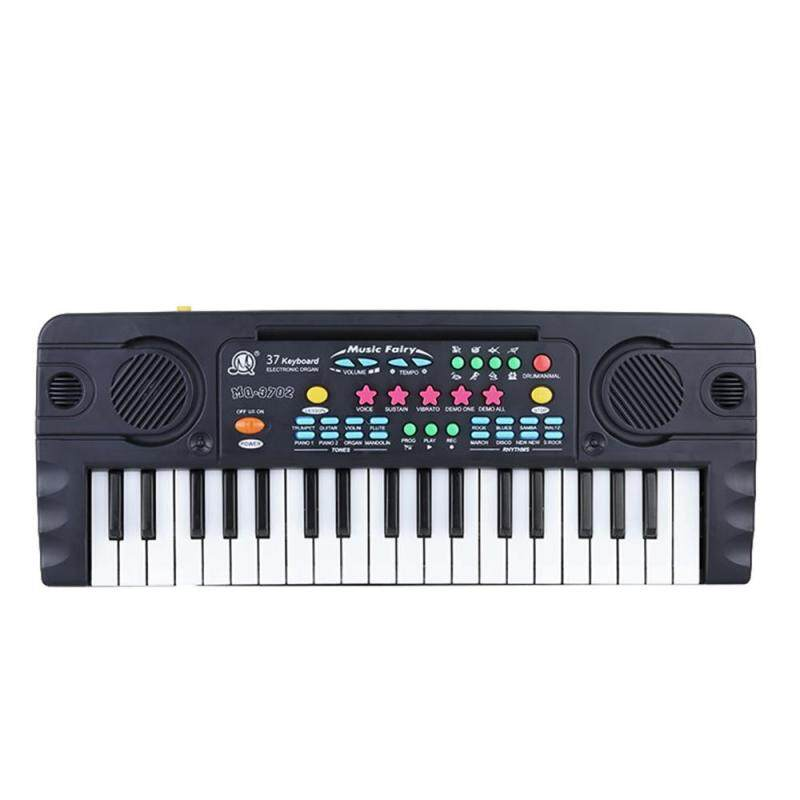 37 Keys Multifunctional Mini Electronic Keyboard Music Toy with Microphone Educational Electone Gift for Children Kids Babies Beginners Malaysia