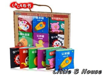 Harga 6 Mini Cloth Books -BKM02