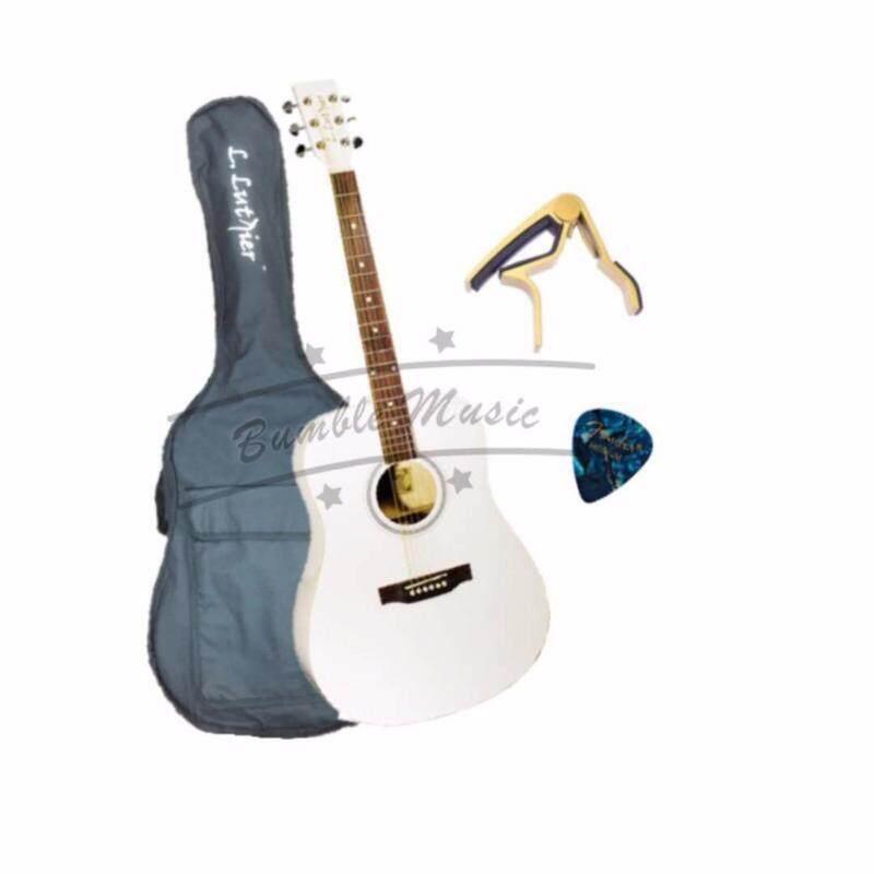 Acoustic Guitar (with EQ) GA20WEQ (white) Malaysia