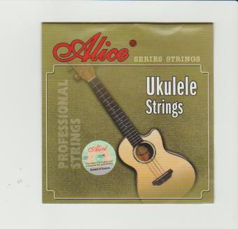 Alice Ukulele String Set (Clear Nylon) Professional Strings