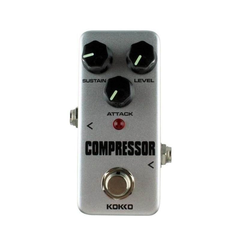 Allwin Aluminum Alloy FCP2 Mini Compressor Pedal Guitar Musical Instruments Effects Malaysia