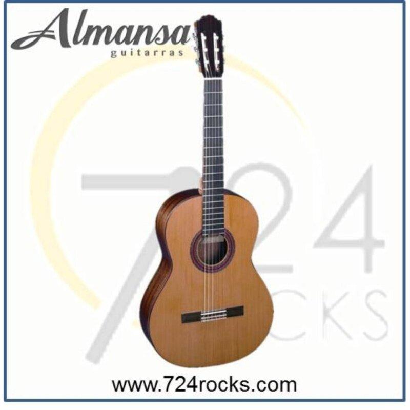 Almansa Spain 403 Solid Top Student Classical Guitar Malaysia