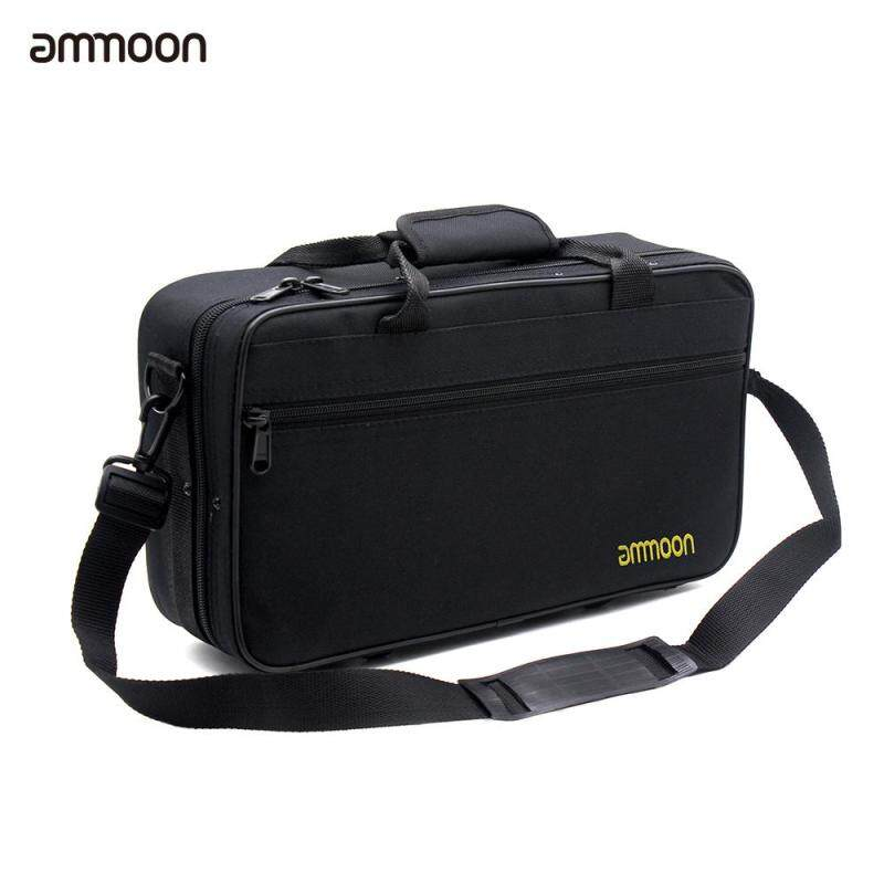 ammoon Clarinet Case Gig Bag Backpack Box Water-resistant 600D Foam Cotton Padding with Adjustable Single Shoulder Strap Malaysia