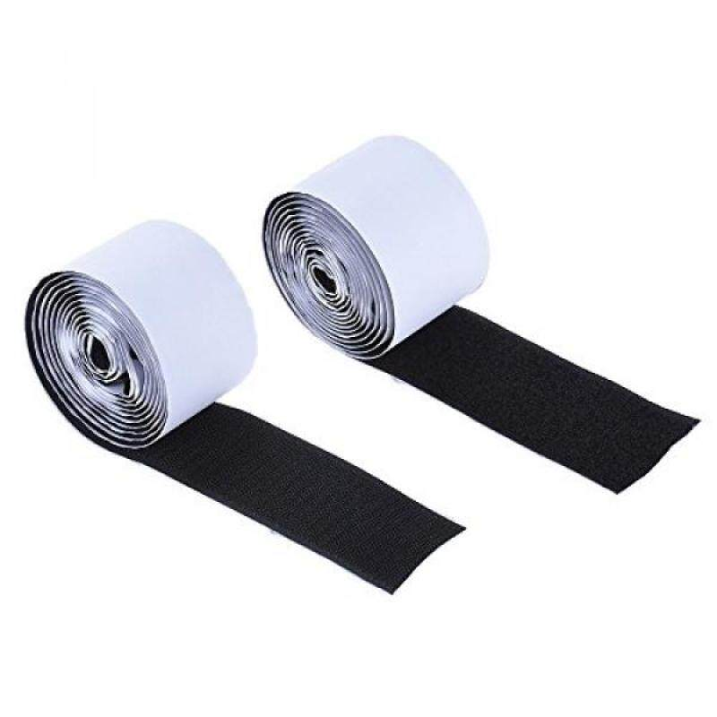 ammoon Pedalboard Pedal Mounting Tape Fastener Length 2M Width 5CM for Guitar Pedal Board, 2-Pack (1 Hook + 1 Loop) Malaysia