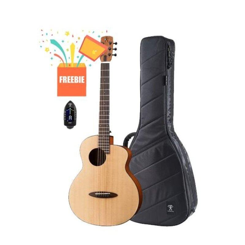 ANUENUE M10EF Solid Top Acoustic Guitar - FEATHER BIRD Malaysia
