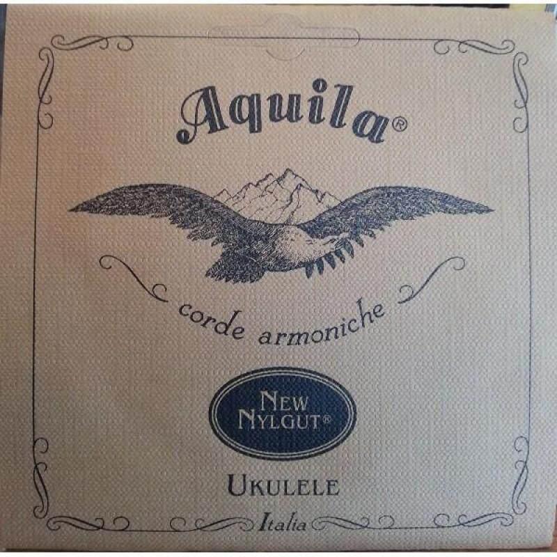 AQUILA 4U SOPRANO Ukulele Strings REGULAR TUNING, key of C (all Nylgut® strings) Malaysia