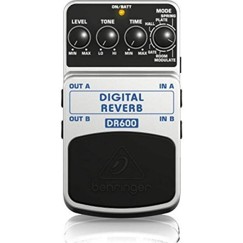 Behringer DR600 DIGITAL REVERB Digital Stereo Reverb Effects Pedal Malaysia