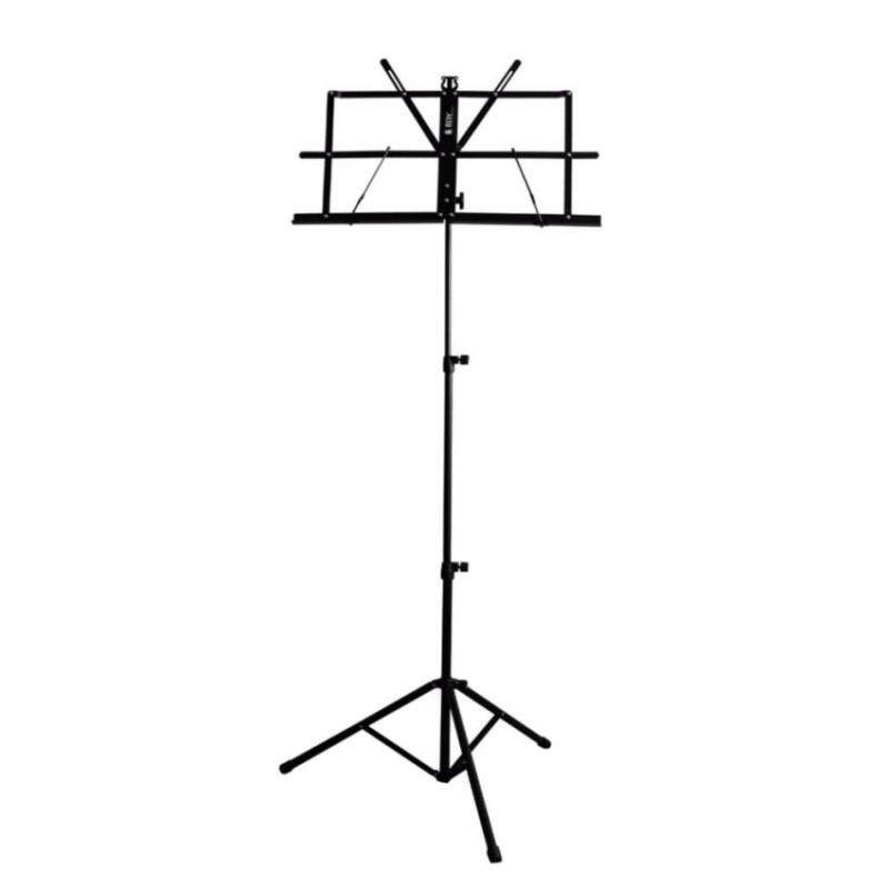 BLW Music Stand with Carrying Bag S-MS Suitable for Guitar,Ukulele, Violin, Keyboard (Black)  Malaysia