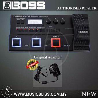 Harga Boss GT-1 Guitar Effects Processor with Free Adaptor (GT1)