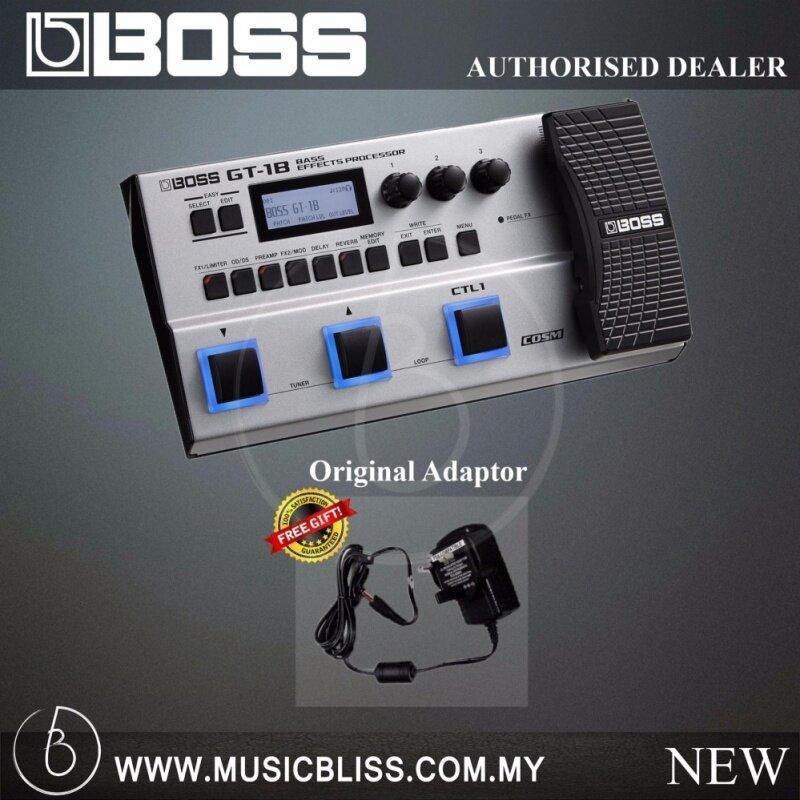 Boss GT-1B Bass Effects Processor with Original Boss Adaptor (GT1B) Malaysia