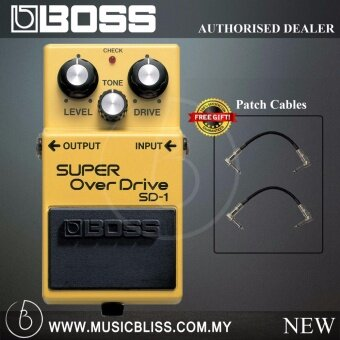 Harga Boss SD-1 Super Overdrive Guitar Pedal