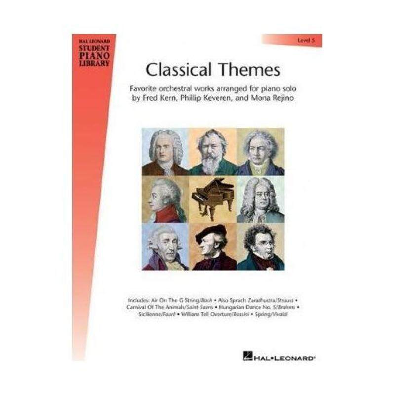 Classical Themes - Level 5 : Hal Leonard Student Piano Library Malaysia