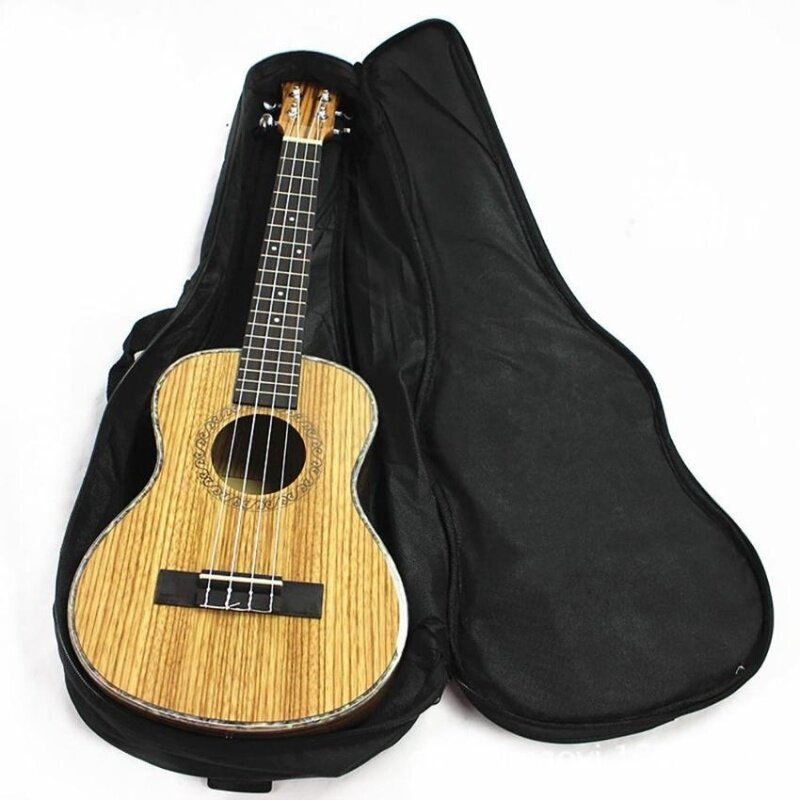 Cocotina Ukulele Soft Comfortable Shoulder Back Carry Case Bag With Straps Black For Gift 21 Malaysia