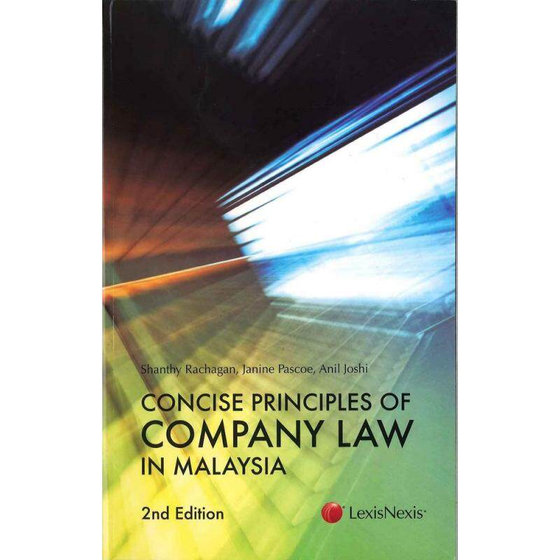 Concise Principles of Company Law in Malaysia - ISBN: 9789675371684 Malaysia