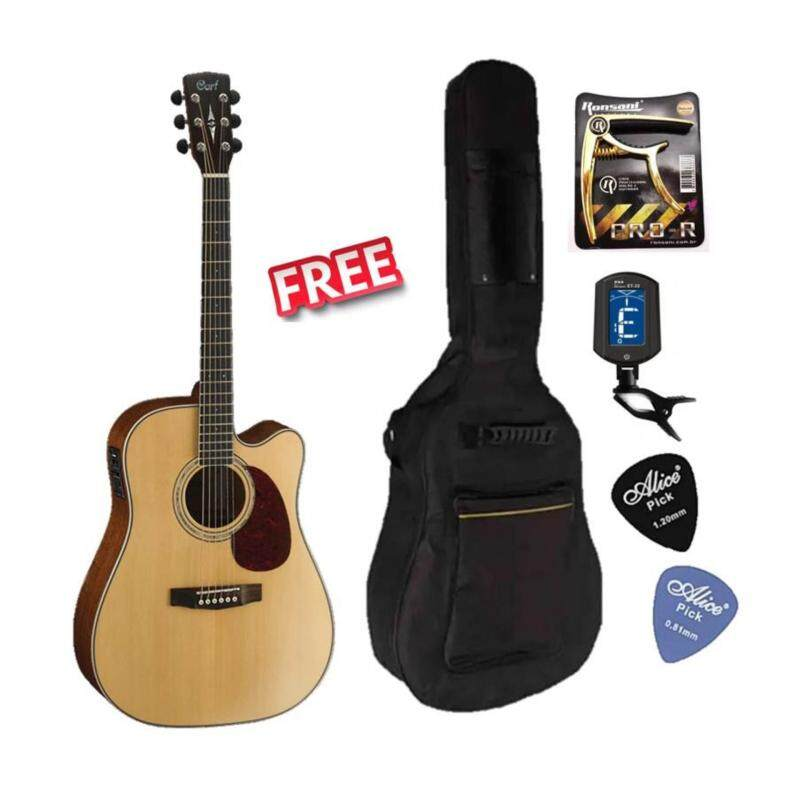Cort Korea MR710F Solid Sitka Spruce Top Acoustic Guitar With Fishman EQ Free Bag, Capo, Tuner & picks Malaysia