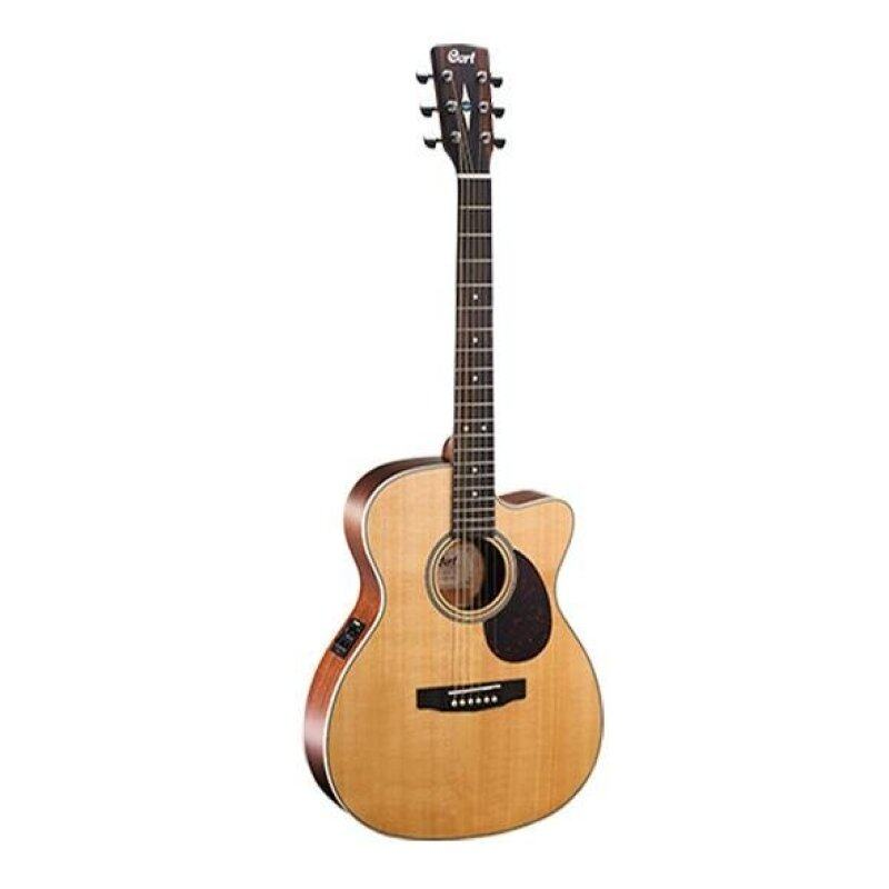 CORT L100 OC WITH EQ SOLID SPRUCE TOP & CASE Malaysia