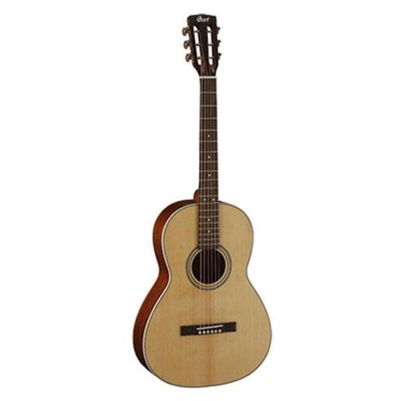 CORT L100 Parlour Size + Solid Top Acoustic Guitar Malaysia