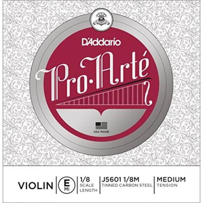 DAddario Pro-Arte Violin Single E String, 1/8 Scale, Medium Tension Malaysia