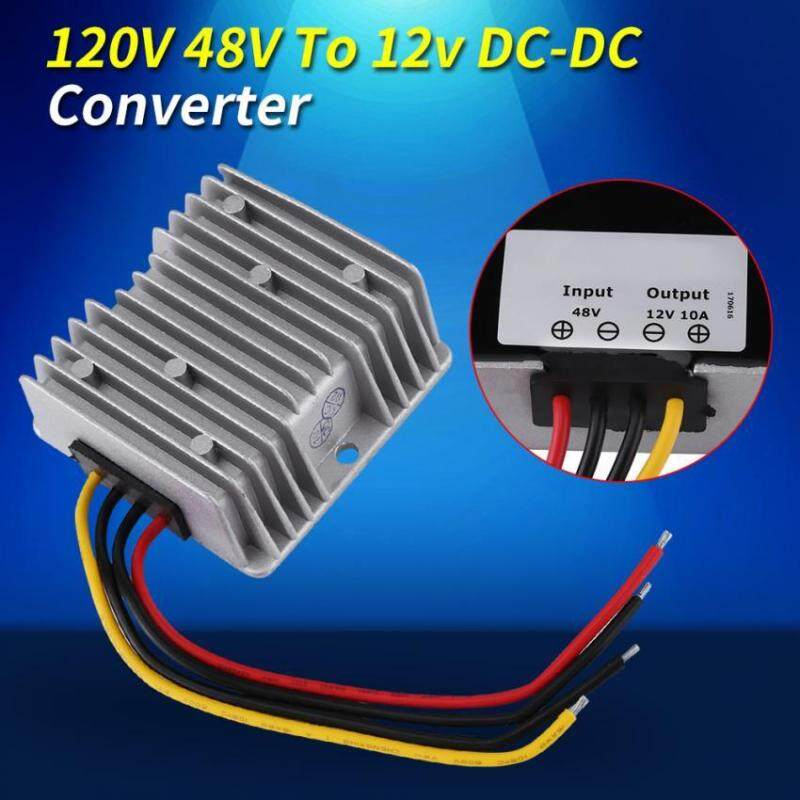DC-DC 48V To 12V 10A 120W Waterproof Voltage Step Down Module Buck Power Supply Converter Malaysia