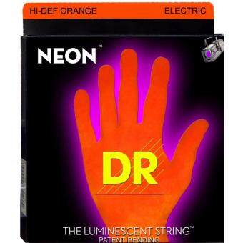 Harga DR Strings NOE-9 Coated Nickel Hi-Def Orange Electric GuitarStrings, Light