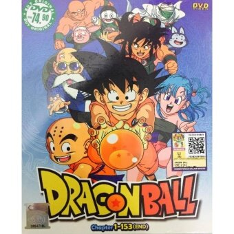 Harga DRAGON BALL - COMPLETE ANIME TV SERIES DVD BOX SET (1-153 EPISODES)