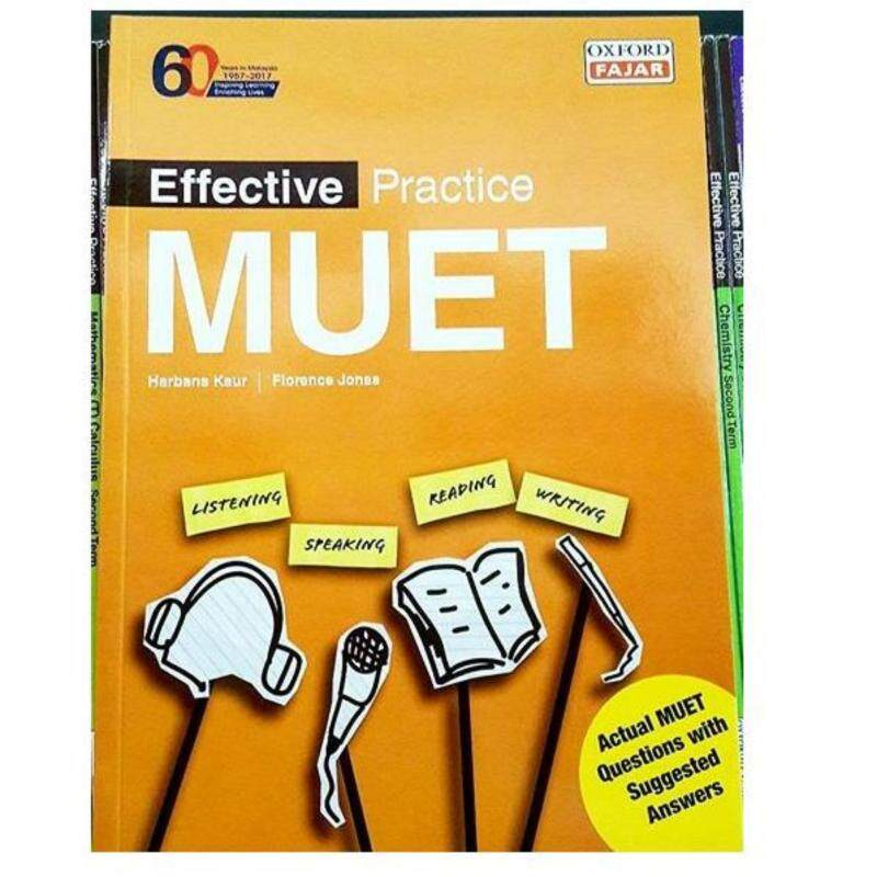 Effective Practice Muet, 10th Edition 2016/2017 Malaysia