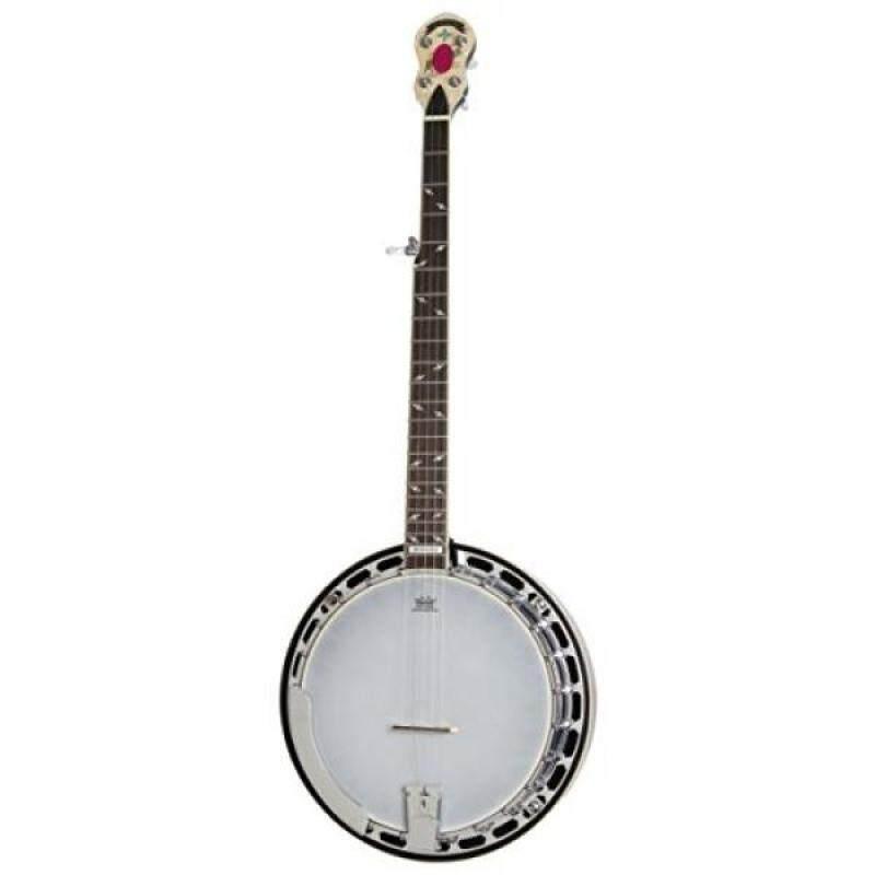 Epiphone EFB6MRCH1 STAGEBIRD Banjo (6-String, Electric), Red Mahogany Malaysia