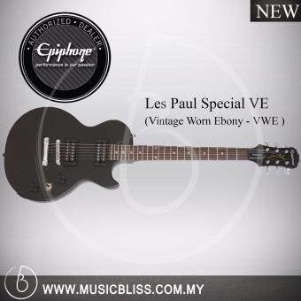 Harga Epiphone Les Paul Special VE Electric Guitar (Vintage Worn Ebony)