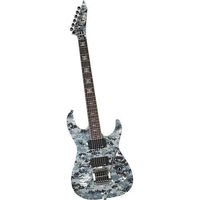 ESP LTD JH-200 JEFF HANNEMAN DIGI CAMO Electric Guitar Malaysia