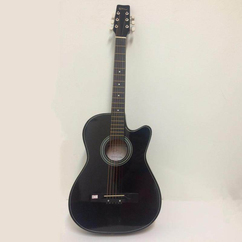 Evo T-38C Acoustic Guitar Starter Pack (Black) Malaysia