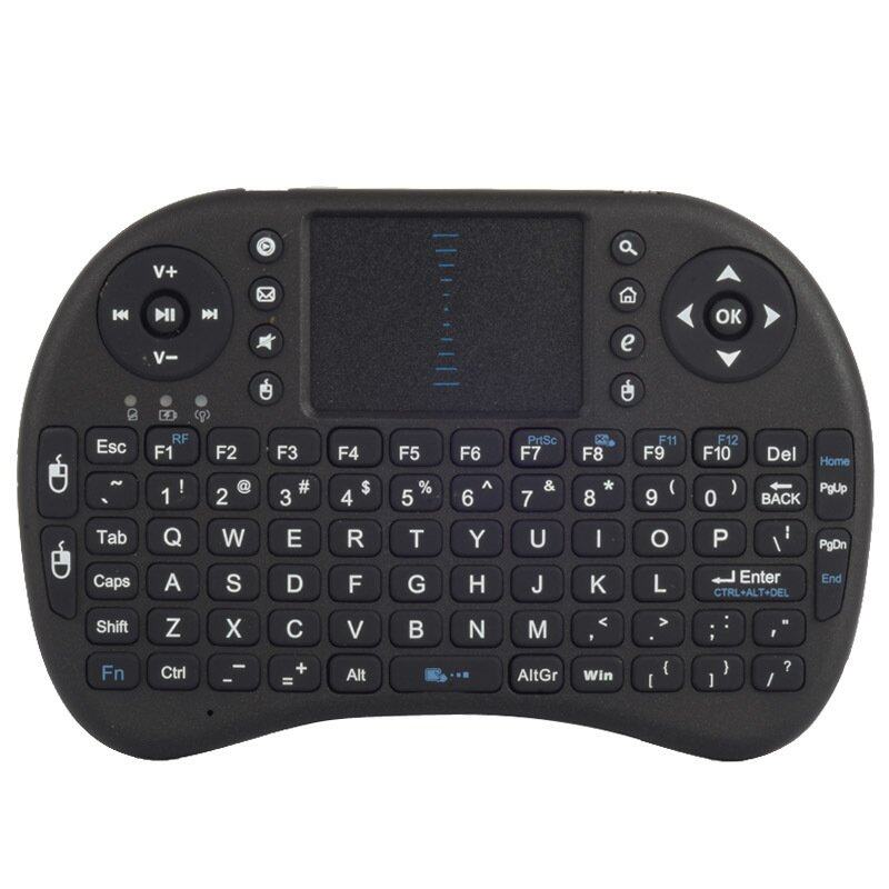 Fancytoy 2.4G Mini Wireless Keyboard Air Fly Mouse Touchpad For TV BOX PS3 360 PC Black Malaysia