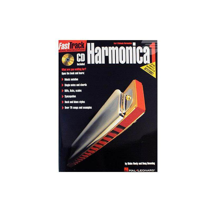FastTrack Harmonica Book 1 With CD Malaysia