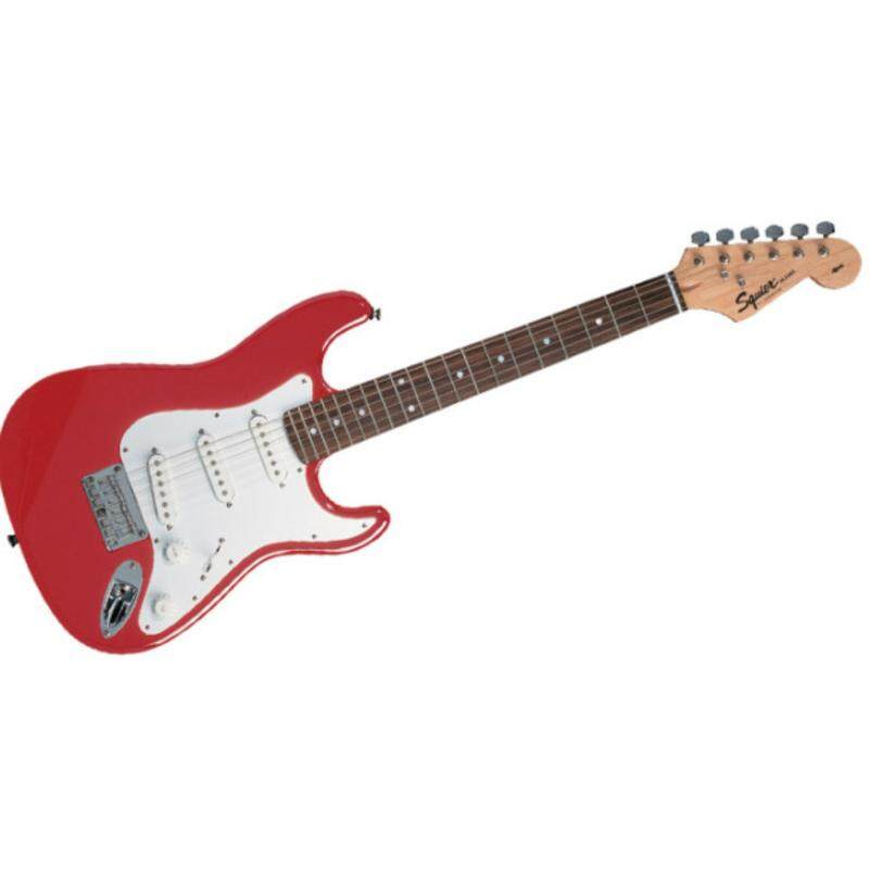 Fender Squier California Stratocaster Electric Guitar (cherry red) Malaysia