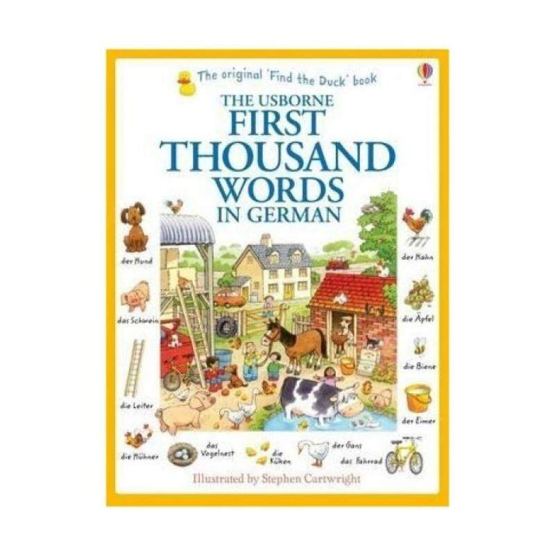 First Thousand Words in German (First Thousand Words) Malaysia