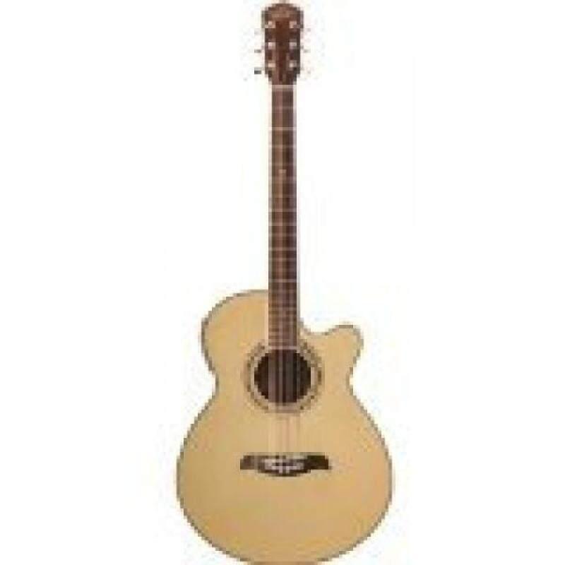 From USA Oscar Schmidt OG10CE Concert-Size Cutaway Acoustic-Electric Guitar - Natural Malaysia