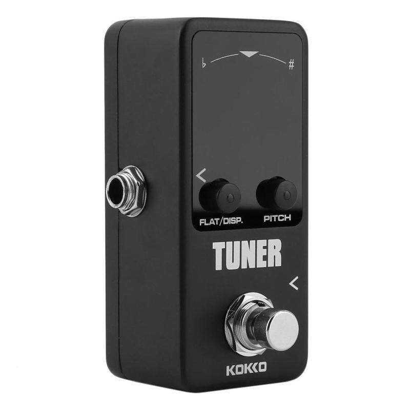 Gift Pedal Tuner Guitar Bass Violin Stringed Instruments Tuner Effect Device Black Malaysia