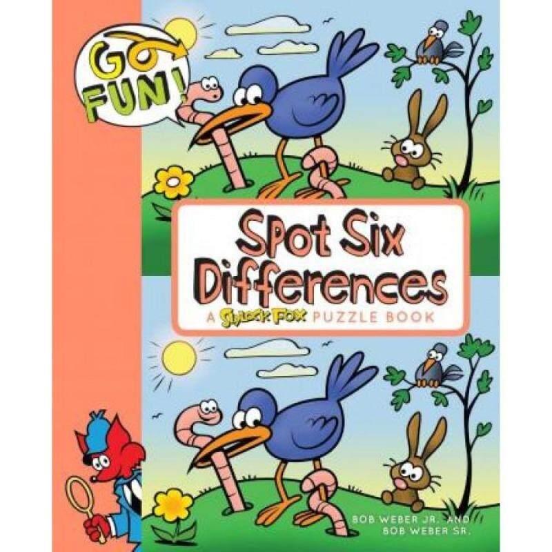 Go Fun! Spot Six Differences 9781449469016 Malaysia