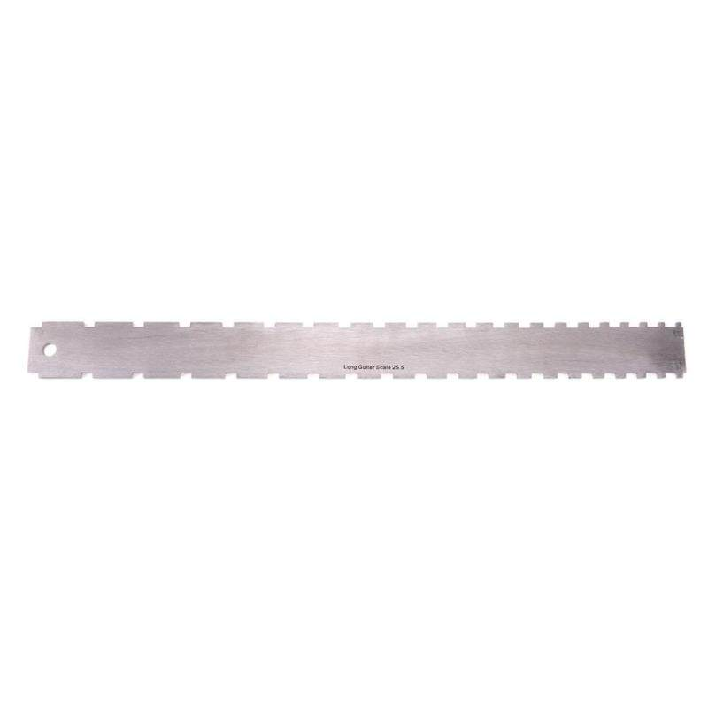 Guitar Neck Notched Straight Edge Luthiers Tool Guitar Fingerboard Ruler Malaysia