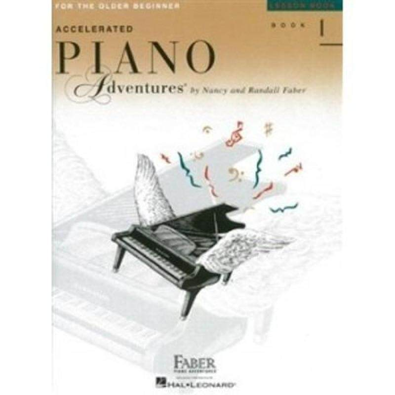 Hal Leonard Accelerated Piano Adventures Leeson Book 1 ( For The Older Beginner ) Malaysia