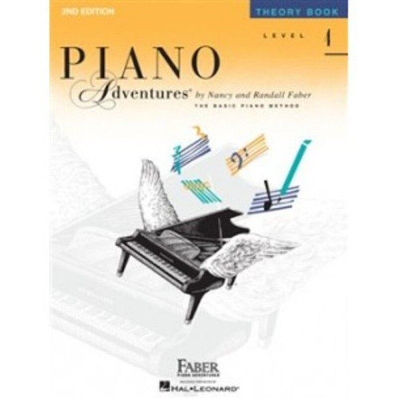 Hal Leonard Piano Adventures Theory Book Level 4 Malaysia