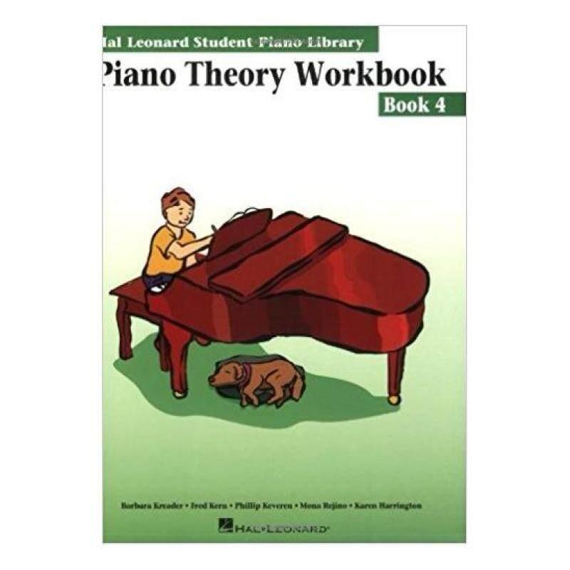 Hal Leonard Student Piano Library Piano Theory Workbook Book 4 Malaysia