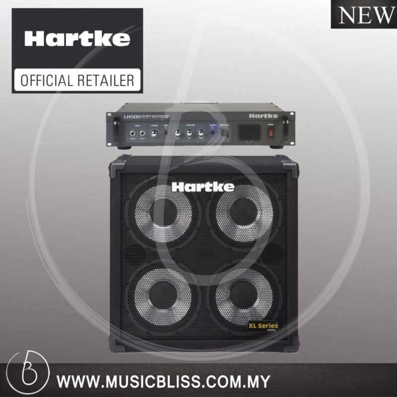 Hartke LH500 Amplifier Head and 410XL Cabinet Set Malaysia